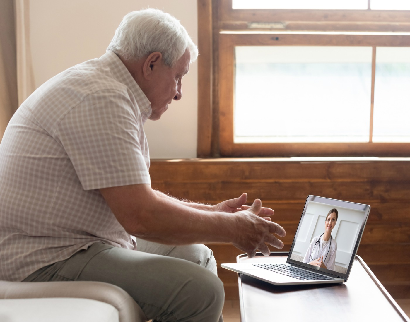 Telemedicine brings a doctor to your door