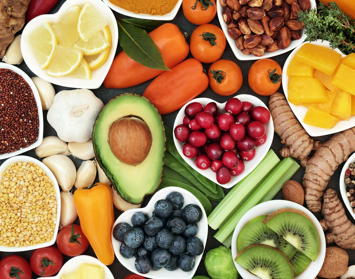 Eat your heart out: tips for heart-healthy eating
